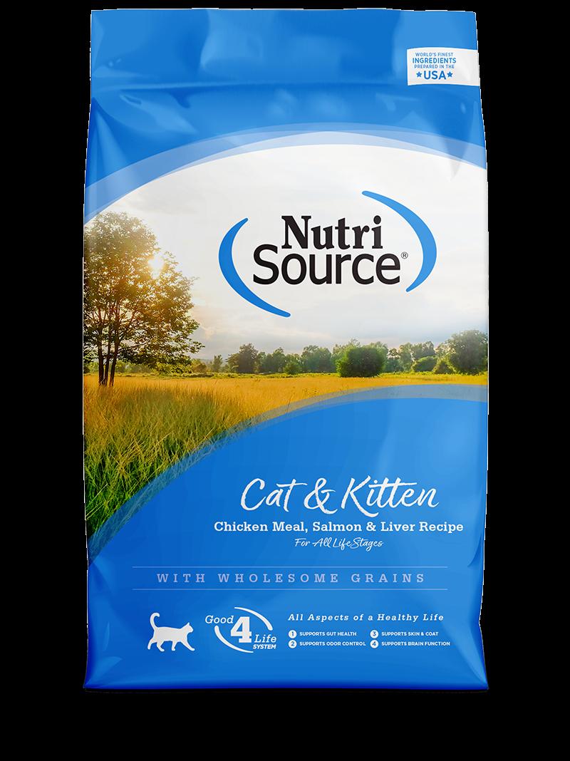 Cat & Kitten Chicken Meal, Salmon, & Liver Recipe
