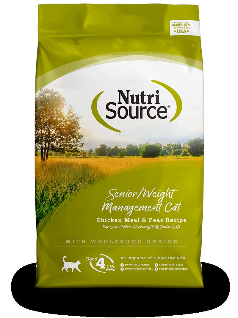 Senior/Weight Management Cat Chicken Meal & Peas Recipe