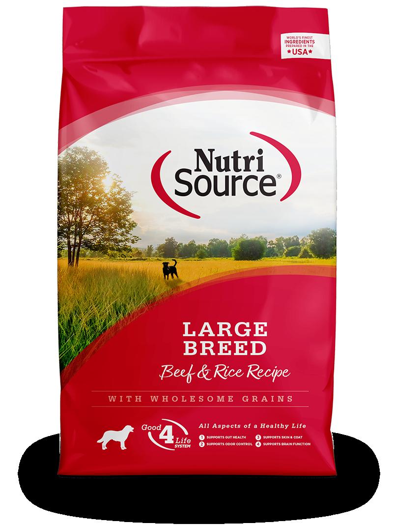 Large Breed Beef & Rice Recipe