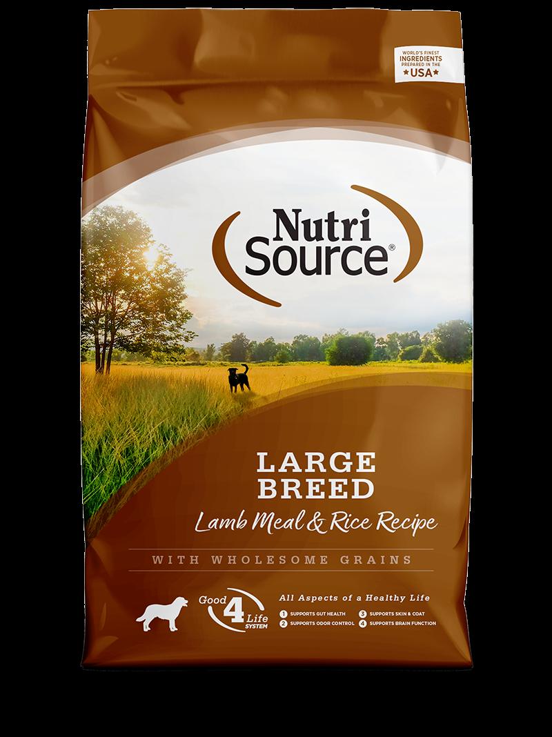 Large Breed Lamb Meal & Rice Recipe